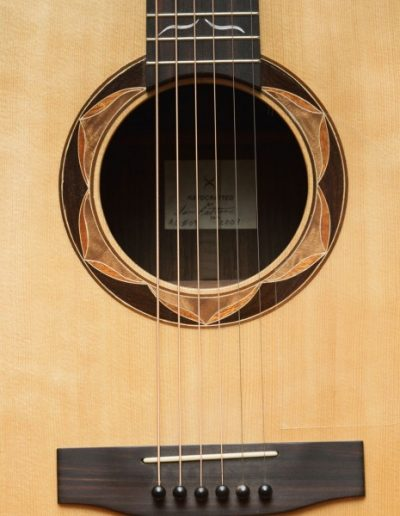 6-String Acoustic Rosette Detail