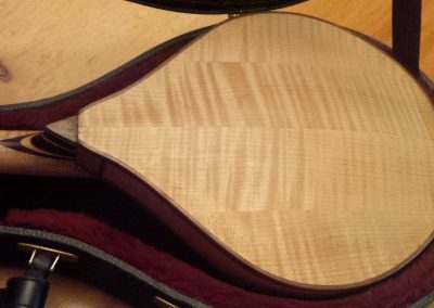 A-Style Mandolin – Back View