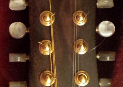 A-Style Mandolin Headstock