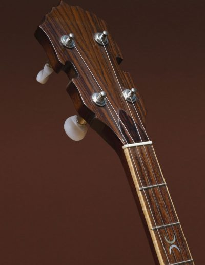 Book matched Rosewood Headstock
