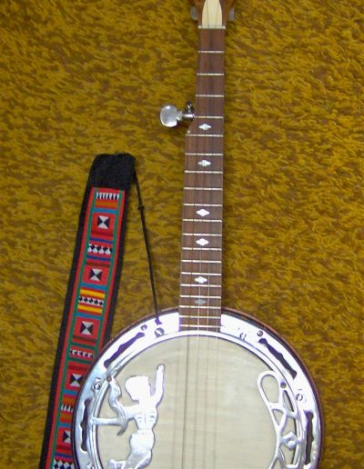 Burmese Banjo Body with C scale Pattison Neck added