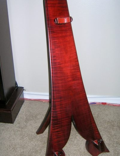 Curly Maple Guitar Stand