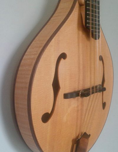 Curly Maple Side and Sitka Top Mandolin