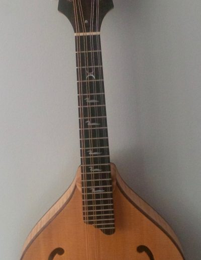 Curly Maple and Sitka Spruce A-Style Mandolin