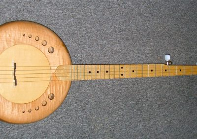 Intergalactic wooden topped banjo