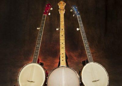 Red, White & Blue Banjo Trio