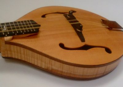 Sitka Spruce top, Walnut Binding