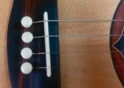 Tenor Guitar Ebony Bridge