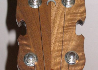 Walnut Whyte Lady Headstock with Mother of Pearl Inlay