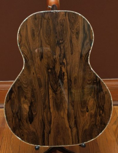 Ziricote Guitar Back